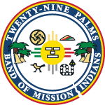Twenty-Nine Palms Band of Mission Indians Seal